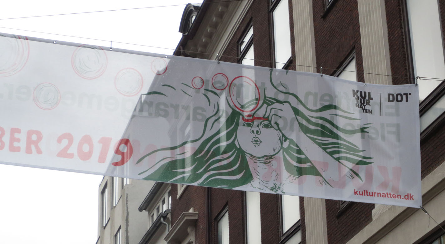 kulturnatten banner strøget